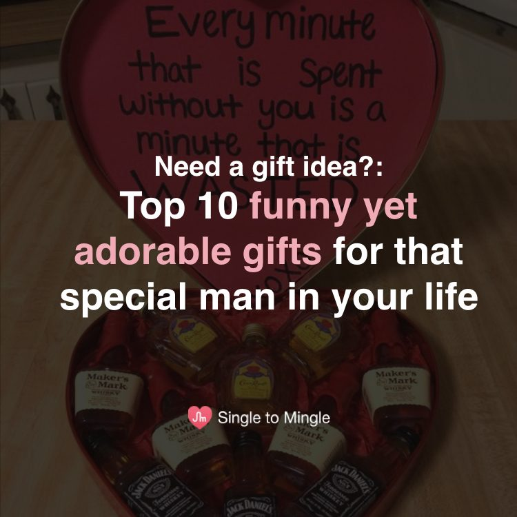 10 funny yet adorable gift ideas for a boyfriend from Pinterest
