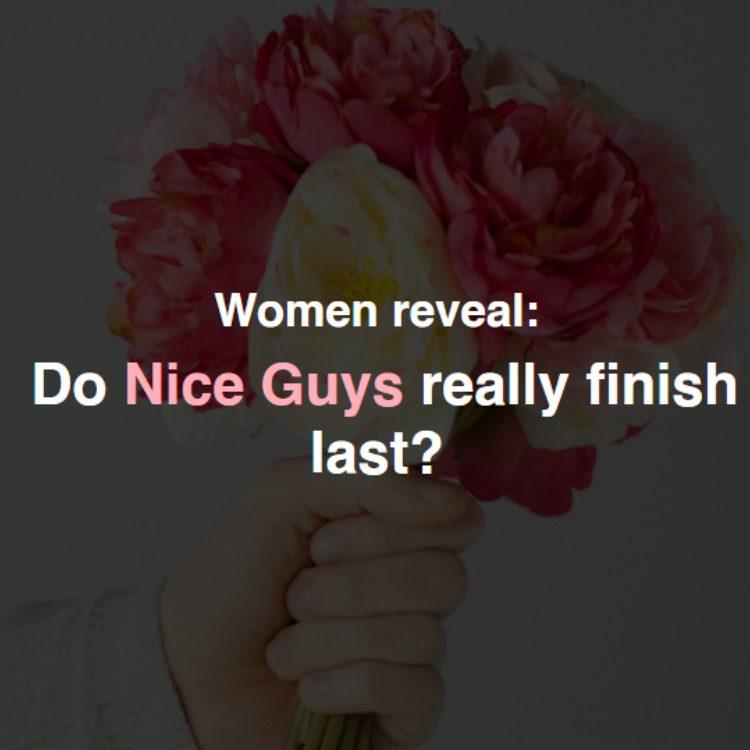 Do nice guys really finish last?